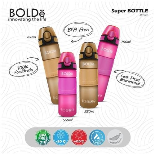 Bolde Super Bottle Alaska 550 ML (MAGENTA)