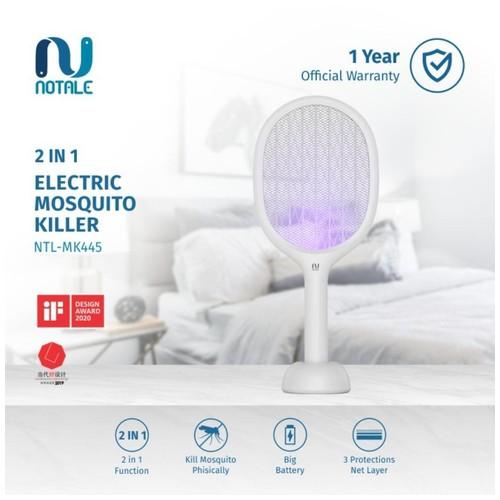 Notale Mosquito 2in1 Killer Raket Nyamuk Rechargeable Perangkap Nyamuk