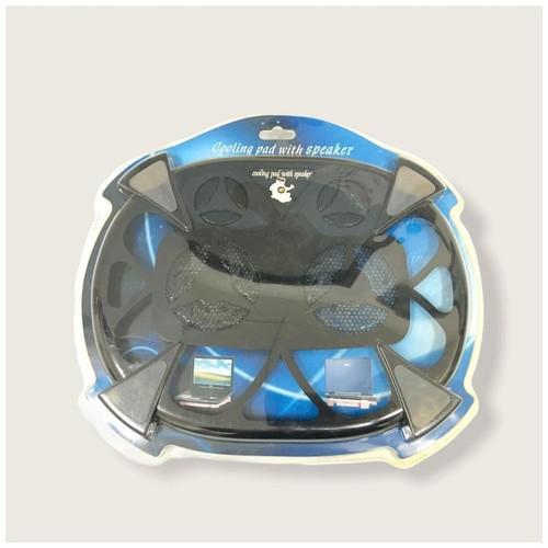 HUNPOL Cooling Pad With Speaker NB061 - Black