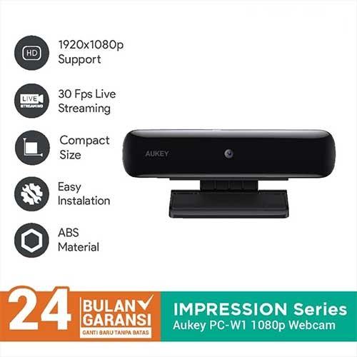 Aukey Webcam PC-W1 1080p - 500826