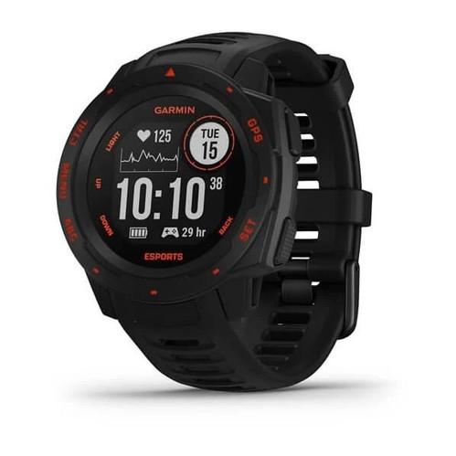 Garmin Instinct Esports Edition GPS Watch - Black Lava