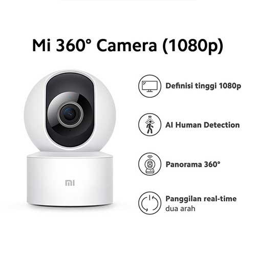 Xiaomi Mi Home Security Camera 360 (1080P) - White