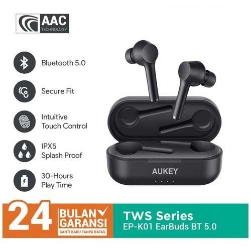 Aukey Headset EP-K01 wireless headphones KSOUND BT 05 - 500459