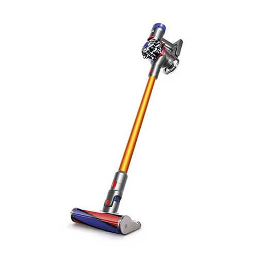 Dyson V8 Carbon Fibre Absolute Cordfree Vacuum Cleaner - Iron Yellow
