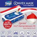 Sensi Convex Mask Earloop E