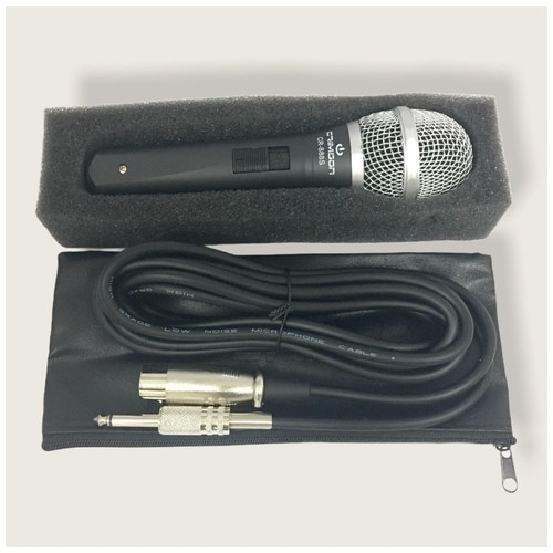 Crimson Dynamic Microphone CR-888S - Black