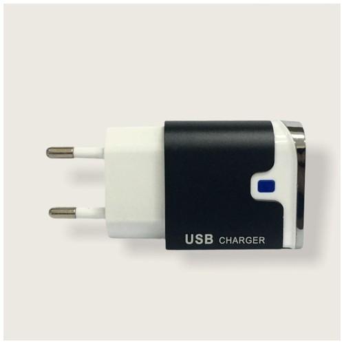 Ciyocorps Dual USB Charger 2.4A ES-D12 - Black