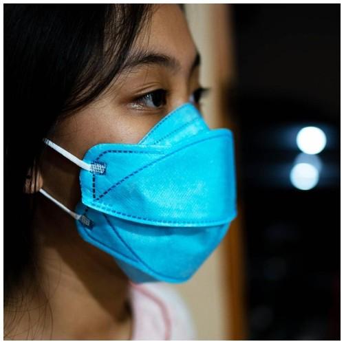 Masker KF 94 4D isi 10 pc Blue
