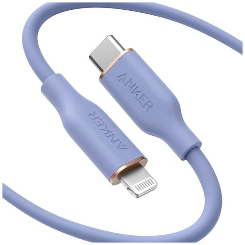 ANKER A8663 - PowerLine III USB-C to Lightning Connector 1.8M Purple