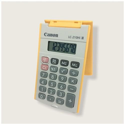 Canon Calculator LC-210Hi III - Orange