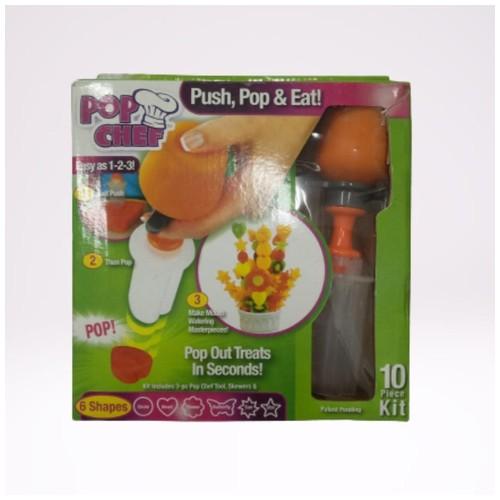 POP CHEF  , alat pencetak buah dan makanan
