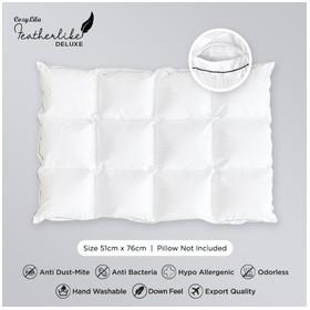 Pillow Comforter Bulu Angsa