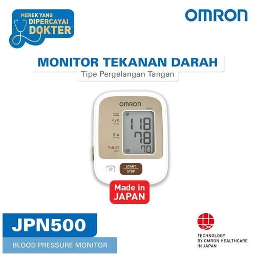 OMRON Blood Pressure Monitor JPN-500