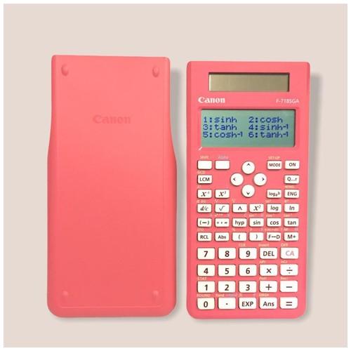 Canon Scientific Calculator F-718SGA Pink