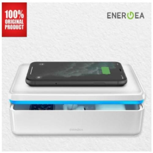 UVC Sterilizer Box Stera360 with 15W Wireless Charging Energea - White