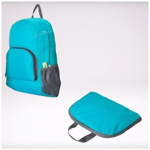 Tas Punggung Lipat / Fordable Backpack - Blue