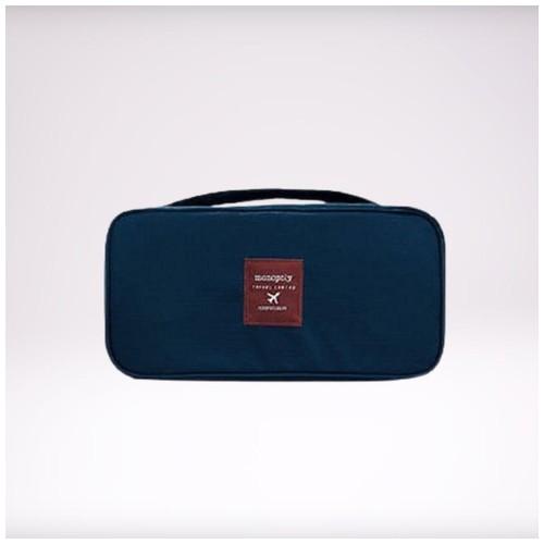 Monopoly Travel Pouch Bag / Bra & Underwear Pouch - Navy Blue