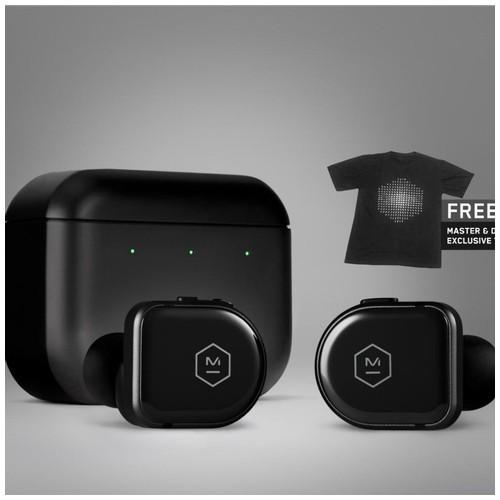 Master & Dynamic ANC True Wireless Earphones MW08 - Black Ceramic / Matte Black Case
