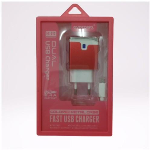 Ciyocorps Fast Usb Charger - Red White