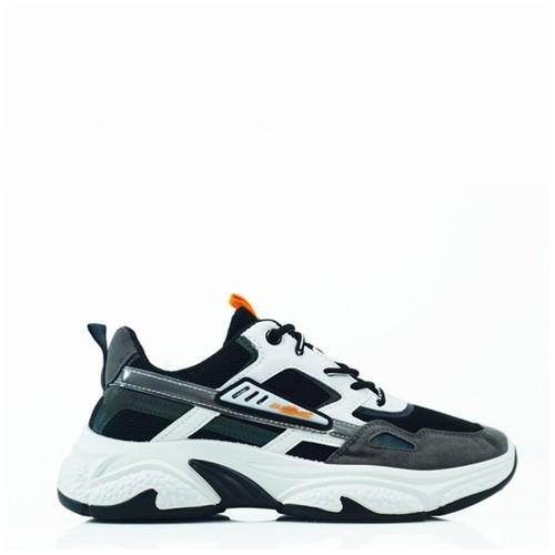 Sepatu Sneakers Running Pria Dane and Dine S0601 hitam