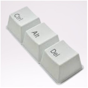 Gelas Unik Bentuk Keyboard