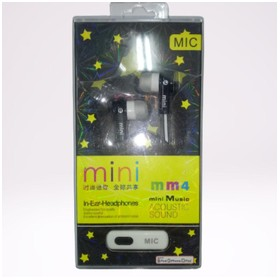 Wired Earphone MM4 - Black