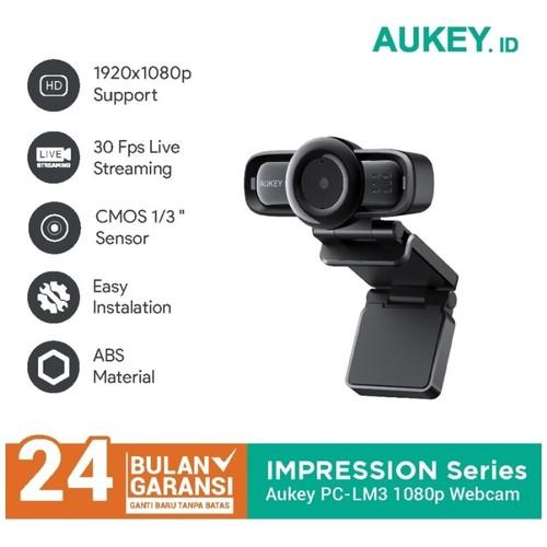 AUKEY PC-LM3 - STREAM Series - Autofocus 1080P Webcam