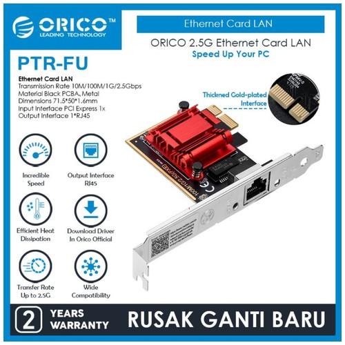 ORICO 2.5G Ethernet Card LAN - PTR-FU