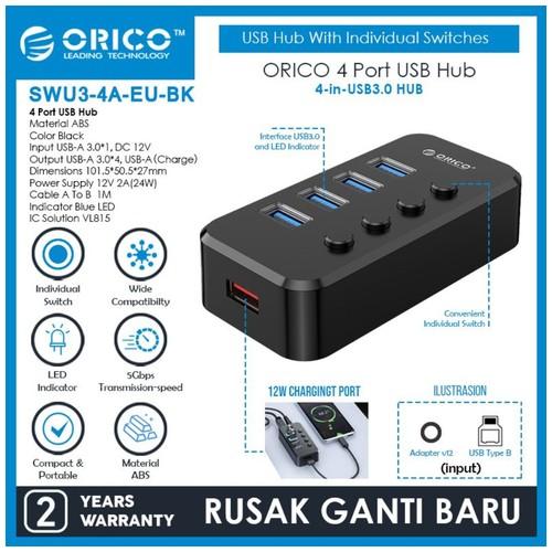 ORICO SWU3-4A 4-Port USB 3.0 HUB