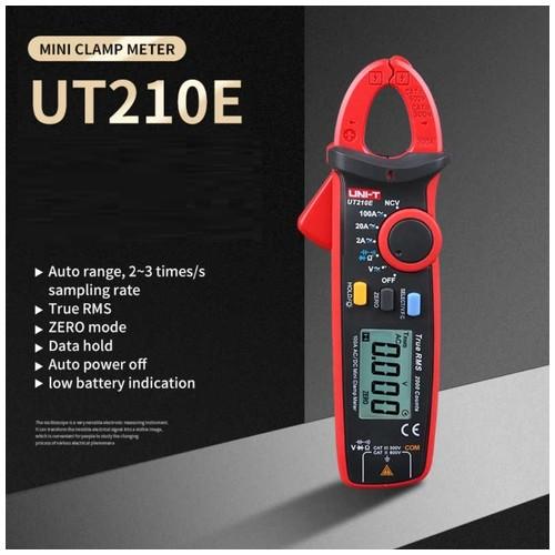 UNI-T UT210E - Mini Clamp Meter True RMS - Tang Ampere Jepit Digital