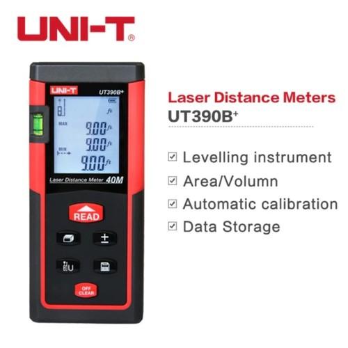 UNI-T UT309B Plus Laser Distance Meter - Pengukur Laser Jarak Jauh 40M