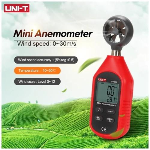 UNI-T UT363 - Mini Anemometer - Pengukur Kecepatan Angin