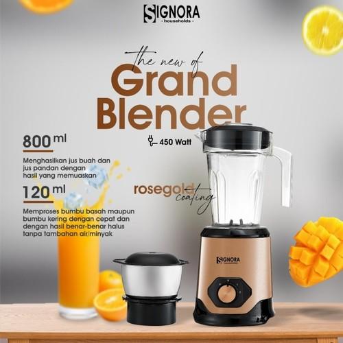 Signora New Grand Blender - Rose Gold