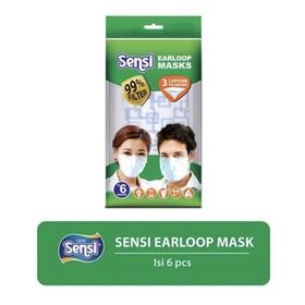 Sensi Earloop Mask - 6pcs