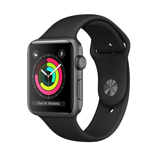 Apple Watch Series 3 42mm GPS - Space Grey with Black Sport Band