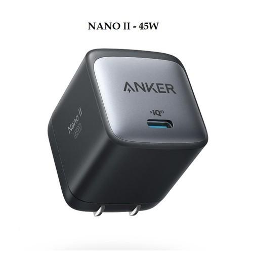 ANKER A2664 - NANO II 45W GaN Charger Single Port USB-C - Charger Mini