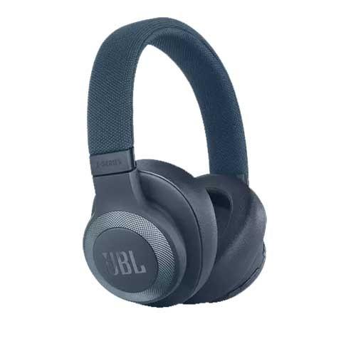 JBL Wireless Over-Ear Noise-Cancelling Headphones E65BTNC - Blue