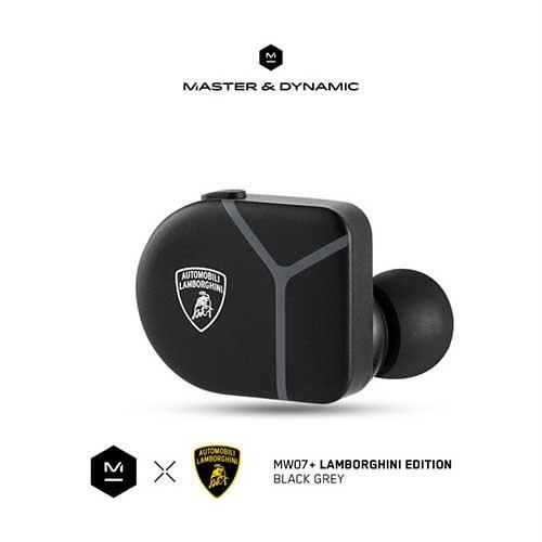 Master & Dynamic ANC True Wireless Earphones MW07 Plus Lamborghini Edition - Black Grey