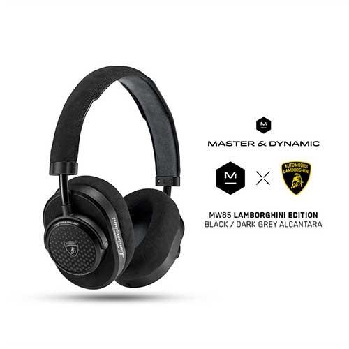 Master & Dynamic ANC Wireless Headphones MW65 Lamborghini Edition - Black Grey