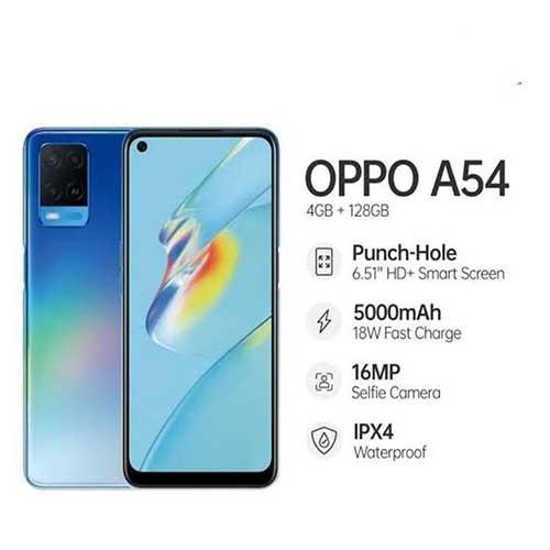 Oppo A54 (RAM 4GB/128GB) - Blue