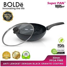 BOLDe Super Pan Wok 28 Blac