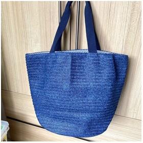 Uniqlo Beach Bag Navy Blue