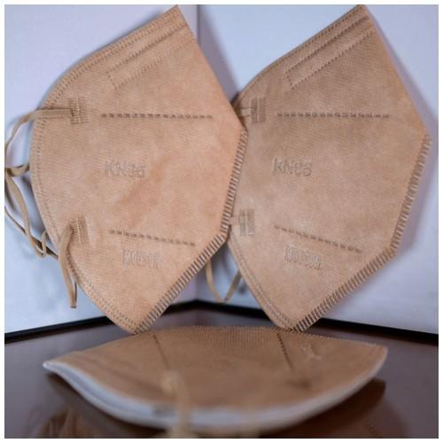 Masker MOUSON KN 95 Protective Mask isi 10 pcs White Coffee