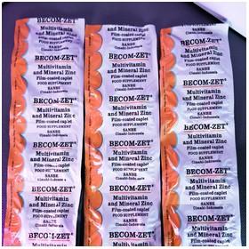 BECOM-ZET Multi Vitamin 10
