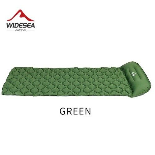 WIDESEA WSCM-001 - Inflatable Sleeping Pad - Kasur Angin Tahan Air Green