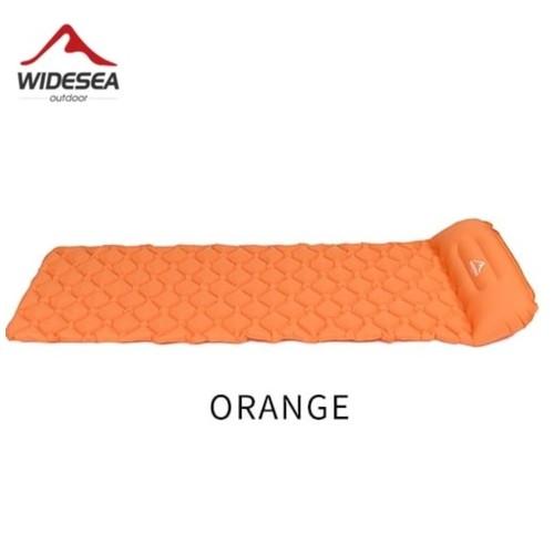 WIDESEA WSCM-001 - Inflatable Sleeping Pad - Kasur Angin Tahan Air Orange