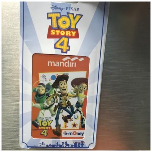 Kartu e-money Mandiri - Toy Story 4 - art 3