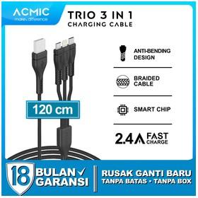 ACMIC TRIO Kabel 3 in 1 Fas