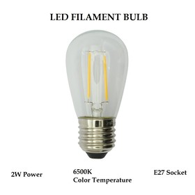 LED Filament Bulb 2W S14 E2