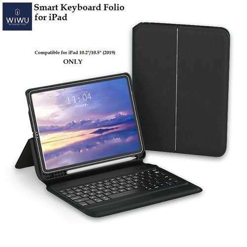 WIWU Smart Keyboard Folio Case with Keyboard - iPad 10.2 10.5 (2019)